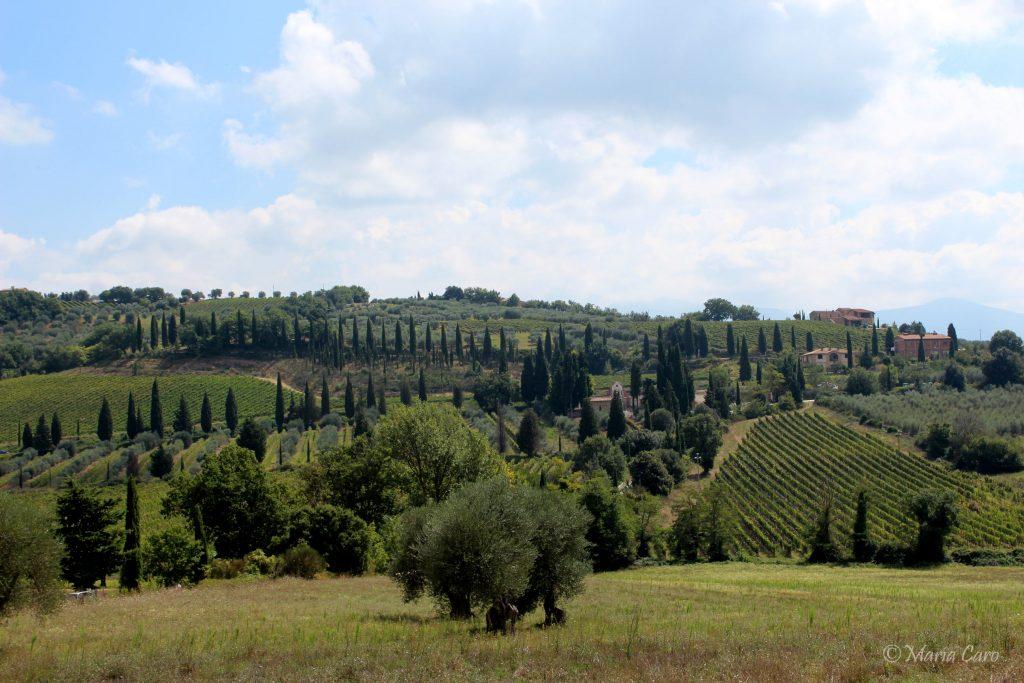 ruta por La Toscana en coche